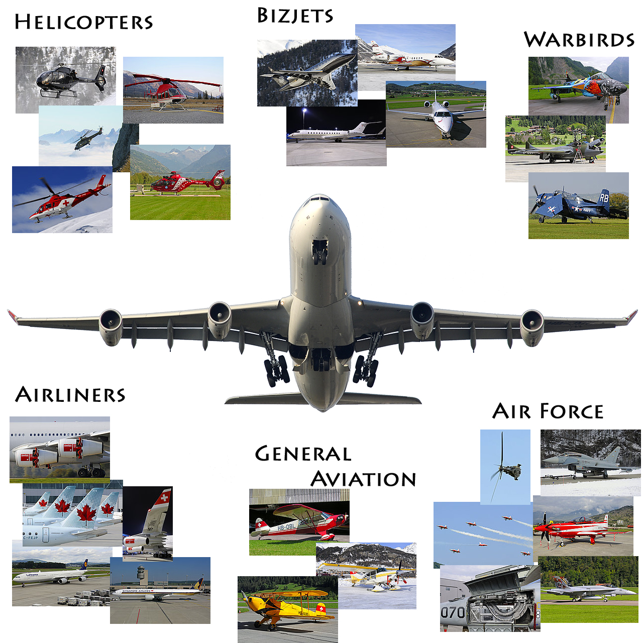 Index Pager -- Helicopters, Bizjets, Warbirds, Airliners, General Aviation, Air Force